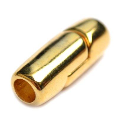 Goud Magneetsluiting Ø5mm Goud DQ 24x9mm