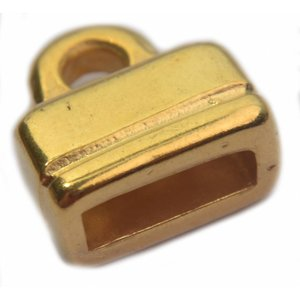 Goud Eindkap Ø9x3mm Goud DQ