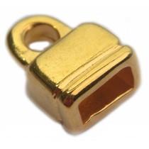 Goud Eindkap Ø6x3mm Goud DQ