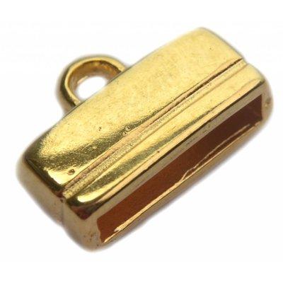 Goud Eindkap 13x2.5mm Goud DQ