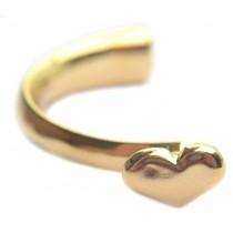 Goud Halve armband hart Ø8x4mm Goud DQ
