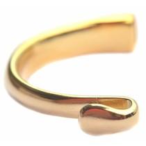 Goud Halve armband Ø8x4mm Goud DQ