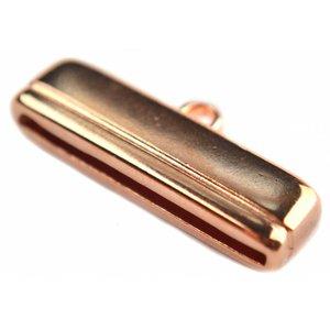 Rosegoud Eindkap Ø30x2.5mm Rosegoud DQ