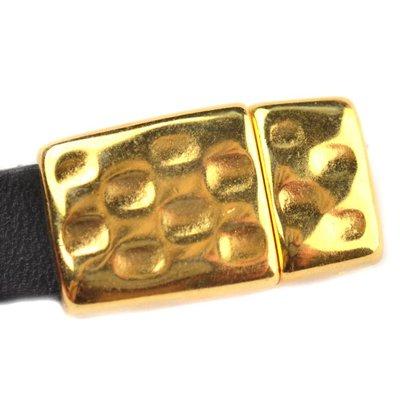 Goud Magneetsluiting Ø10x2.5mm Goud DQ