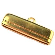 Goud Eindkap Ø30x2.5mm Goud DQ