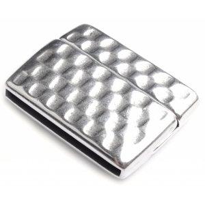 Zilver Magneetsluiting Ø30x2.5mm Zilver DQ