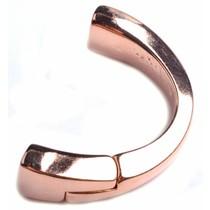 Rosegoud Halve magneet armband Ø10x6mm Rosegoud DQ