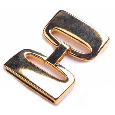 Goud Sluiting clip Ø30x2.5mm Goud DQ