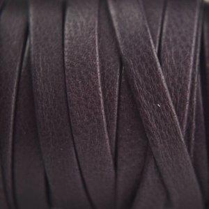 Paars Plat nappa leer paars grijs 5mm - 54cm