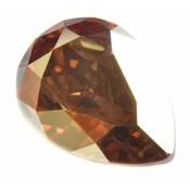 Goud Swarovski druppel crystal metallic sunshine 14x10mm