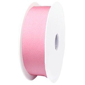 Roze Elastisch ibiza lint Licht roze 25mm - prijs per meter