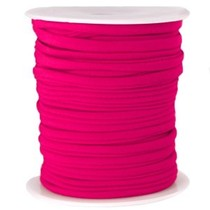 Roze Modi lint fuchsia roze 4mm - prijs per meter