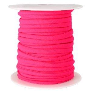 Roze Modi lint neon roze 4mm - prijs per meter