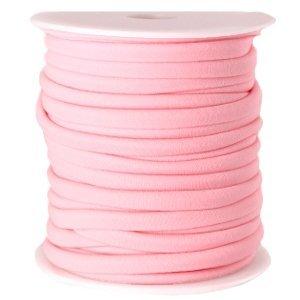 Roze Modi lint licht roze 4mm - prijs per meter