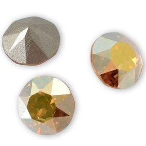 Goud Swarovski puntsteen SS39 Crystal Metallic Sunshine