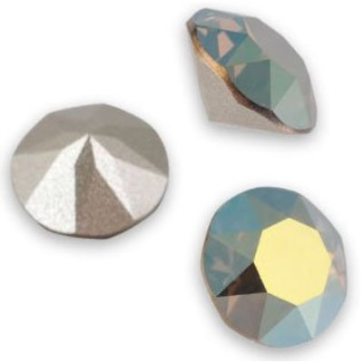 Groen Swarovski puntsteen SS39 Crystal Iridescent Green