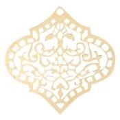 Goud Filigraan ruit goud 45mm