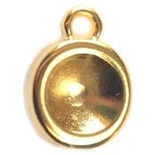 Goud Bedel voor SS39 metaal goud DQ 16x12mm