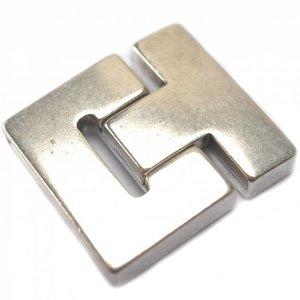 Zilver Magneetsluiting Ø25x3mm zilver DQ