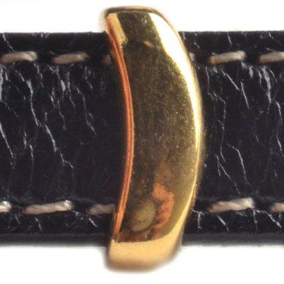 Goud Leerschuiver haakje Ø10x2.5mm Goud DQ