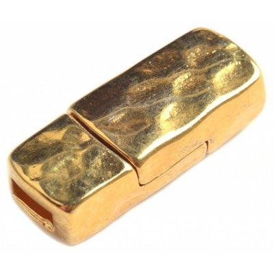 Goud Magneetsluiting Ø6x2.5mm metaal goud DQ