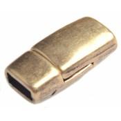 Antiek Goud Brons Magneetsluiting Ø5x2mm Brons DQ