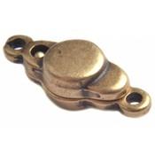 Antiek Goud Brons Magneetsluiting Brons DQ 17x7mm