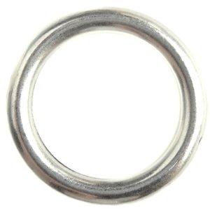 Zilver Ring metaal zilver DQ 22mm