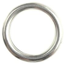 Zilver Ring metaal zilver DQ 25mm