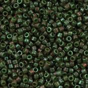 Groen Miyuki Delica Opaque Dark Olive Luster 11/0 - 4gr