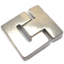 Zilver Magneetsluiting Ø38x3mm Zilver DQ 41x36mm