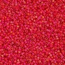 Rood Miyuki Delica Cranberry Matte Opaque AB 11/0 - 4gr