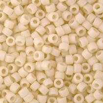 Wit Miyuki Delica Cream Matte Opaque AB 11/0 - 4gr