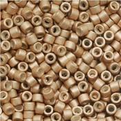 Goud Miyuki Delica bead Galvanized Champagne 11/0 - 4 gram