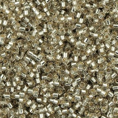 Grijs Miyuki Delica bead silver lined Grey Mist 11/0 - 4 gram
