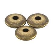 Antiek Goud Brons Kraal disc metaal Brons DQ 5x1.5mm