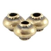 Antiek Goud Brons Kraal metaal cone Brons DQ 5mm