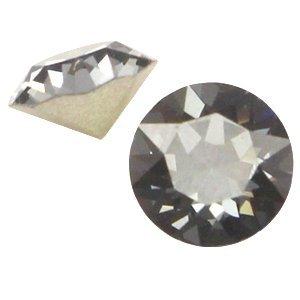Grijs Swarovski puntsteen ss24 (5,2mm) Crystal silver night