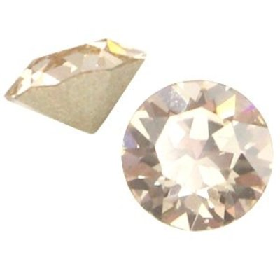 Bruin Swarovski puntsteen ss24 (5,2mm) Light silk