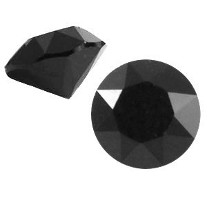 Zwart Swarovski puntsteen ss24 (5,2mm) Jet black