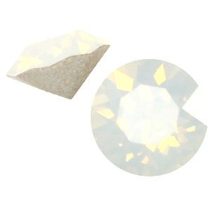 Wit Swarovski puntsteen ss24 (5,2mm) White opal