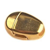 Goud Magneetsluiting druppel Ø5x2mm Goud DQ
