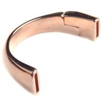 Rosegoud Halve magneet armband Ø10x2mm Rosegoud DQ