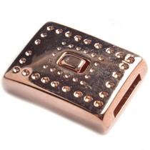 Rosegoud Magneetsluiting dots Ø10x2mm Rosegoud DQ