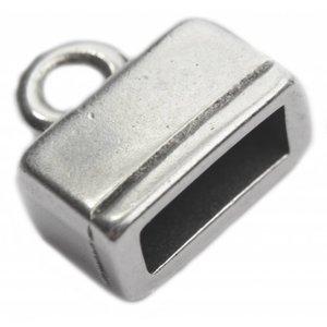Zilver Eindkap Ø10x4mm Zilver DQ