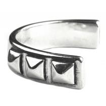Zilver Halve Armband studs Ø10x2.5mm Zilver DQ