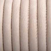 Bruin Imitatie Leer vintage sand 6x4mm - prijs per 20cm