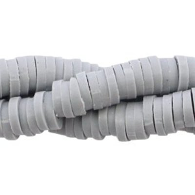 Grijs Katsuki kralen Ice grey 4mm - ±70 stuks