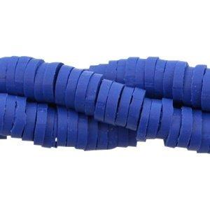 Blauw Katsuki kralen Cobalt blue 4mm - ±70 stuks