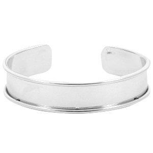 Zilver Basis armband 10mm binnenmaat Zilver
